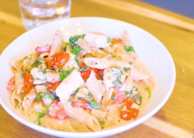 Margherita Chicken Pasta